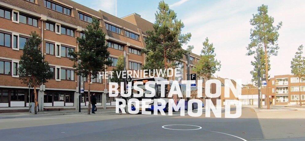 Impressiefilm busstation Roermond