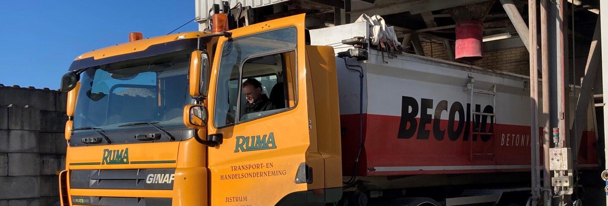 Leicon levert ook wegenbouwbeton